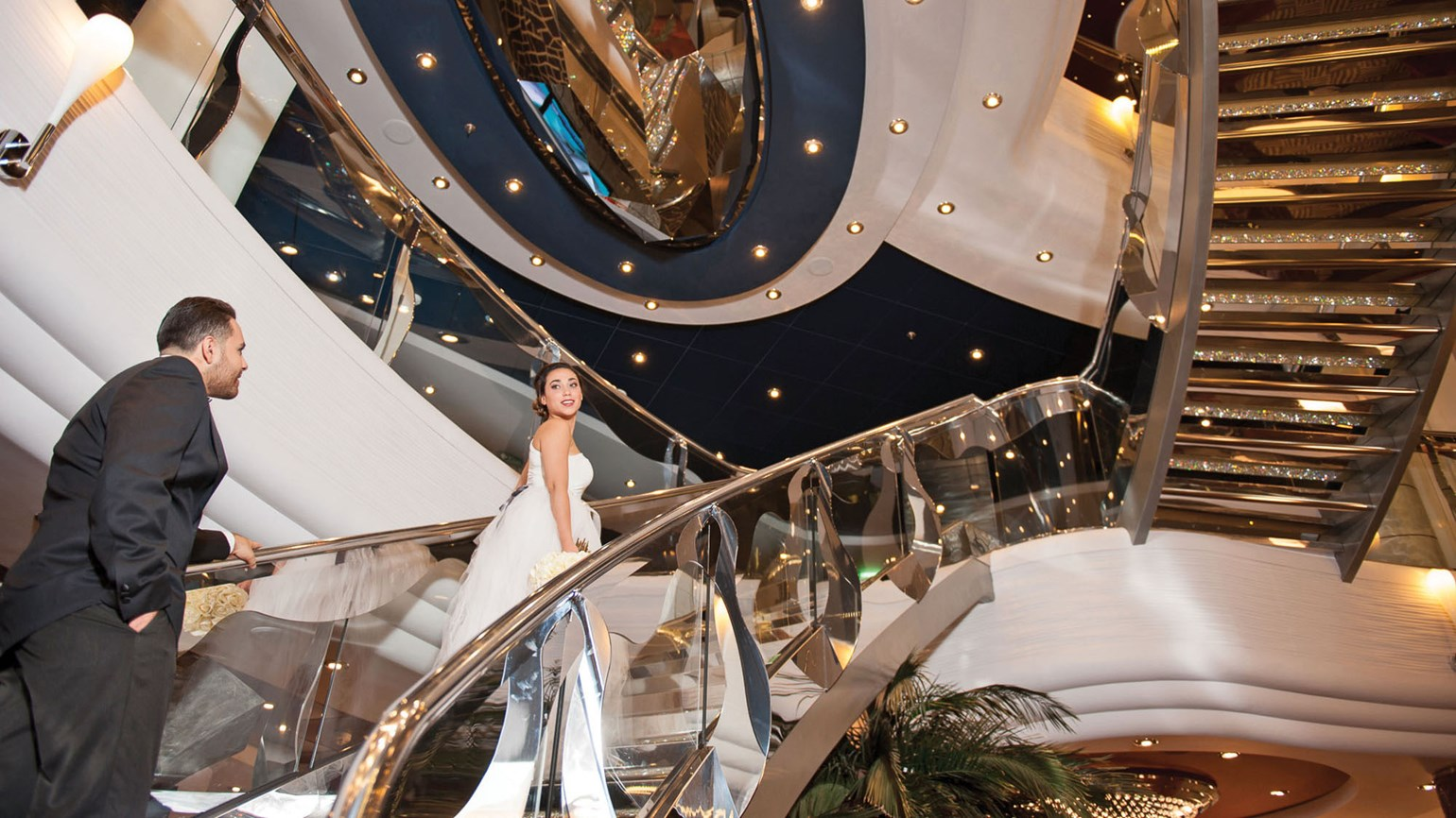 For cruise lines, weddings mean varying locales, regulations