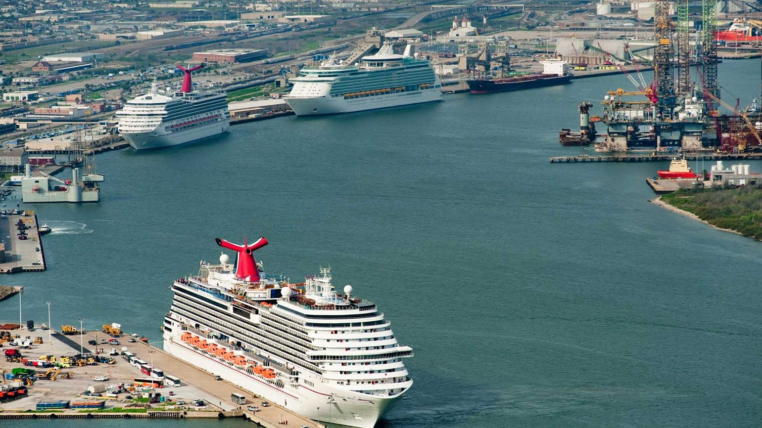 Carnival Breeze And Liberty Will Sail From Galveston
