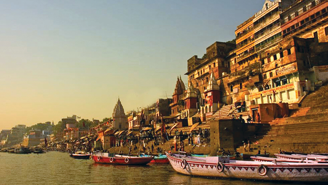 Pandaw's new Ganges itinerary begins in the holy city of Varanasi.