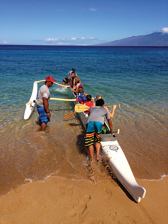 Maui Paddle Sports offers whale-watching canoe tours.