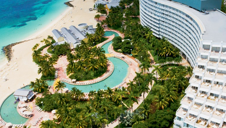 The Grand Lucayan will become a hybrid resort, offering room-only and all-inclusive options.