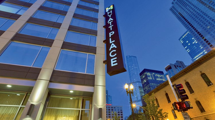 White Lodging's River North ''Triplex,'' which opened in July 2013, includes a 212-room Hyatt Place, ...