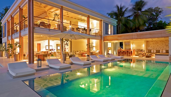The Dream, a five-bedroom villa located in St. James on the west coast of Barbados.