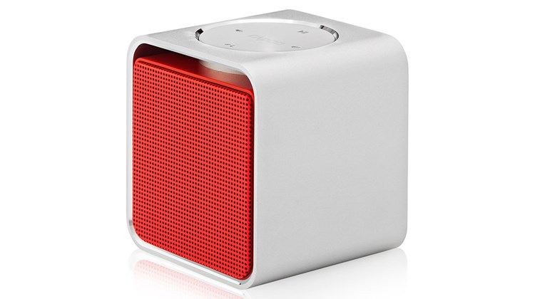 Designed with the traveler in mind at only 8.6 ounces in weight, the cube-shaped Rapoo A300 Mini Speaker is a stylish, easily transportable speaker that offers Bluetooth (or wired) connectivity without the need to power on or set up a connection. Other attributes include one-touch operation, multipoint connection and an integrated microphone that doubles as a speakerphone. According to the manufacturer, you can expect to get 12 hours of streaming music from the speaker's rechargeable integrated lithium ion battery.