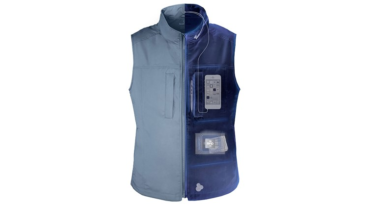 What's New, What's Hot is Travel Weekly's look at useful and fun travel gadgets, edited by Joe Rosen. First up, the Scottevest Featherweight Vest. With 14 secure pockets -- including an RFID-blocking interior pocket -- that enable you to carry all your gadgets, documents and personal effects safe and organized, the vest all but eliminates the need for a carryon bag. Water and stain resistant, this Teflon-coated garment boasts a partial mesh lining that enables increased wicking and breathability.