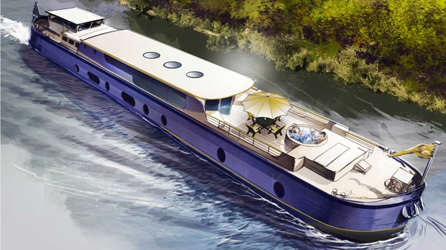European Waterways to sail new luxury barge in France