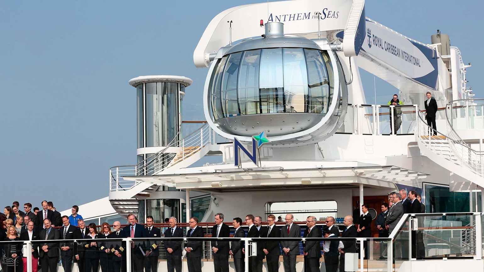 Royal Caribbean Takes Delivery Of Anthem Of The Seas Travel Weekly