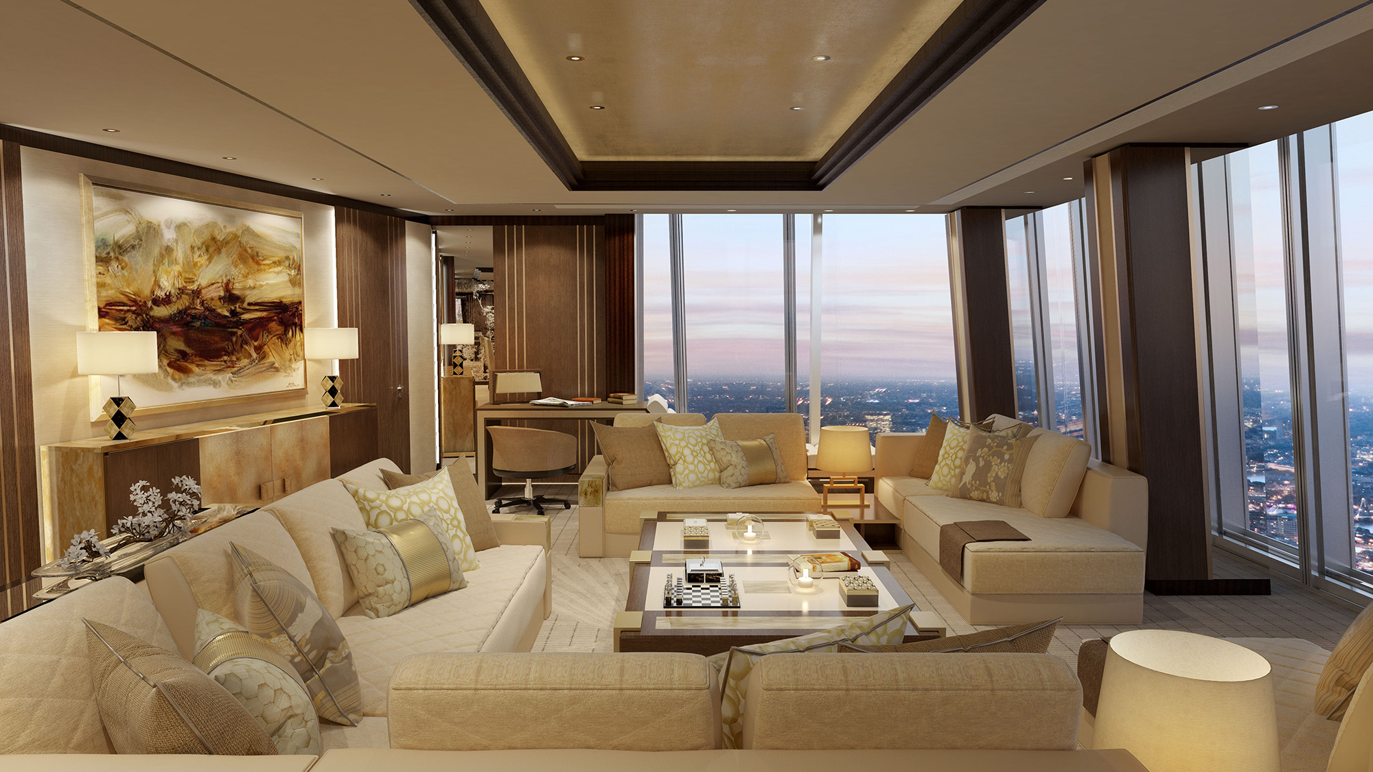 London S Shangri La At The Shard Adds New Suites Travel Weekly