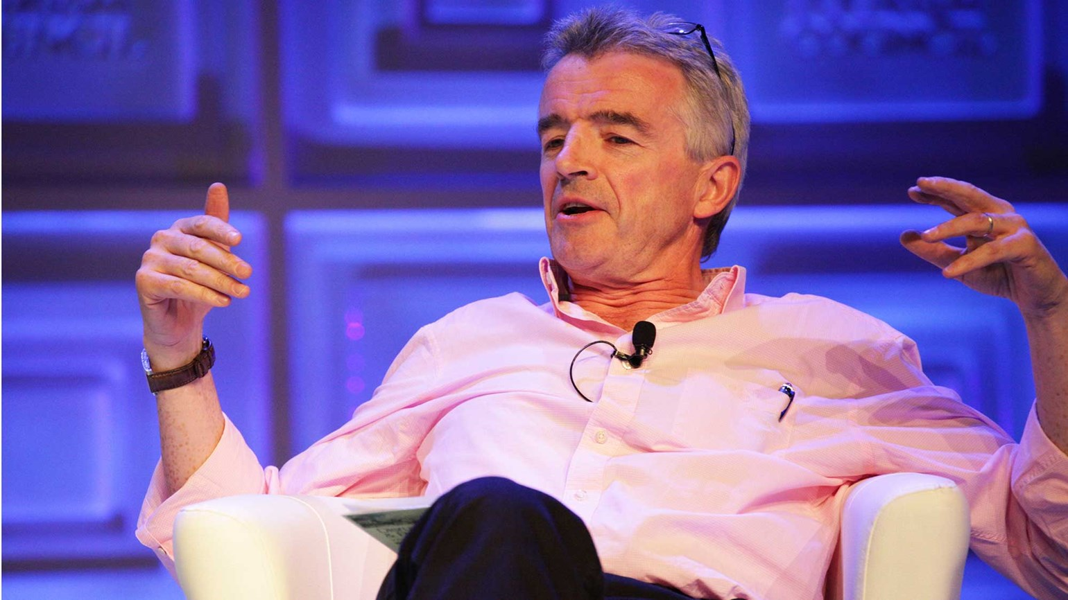 Ryanair's CEO, bad boy of aviation, sounds off