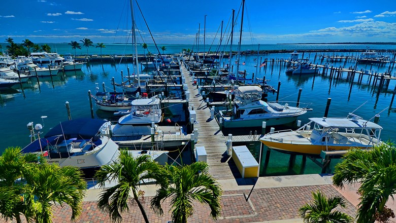 The resort's Boat Harbour Marina is the starting point for a number of fishing excursions.