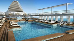 Seven Seas Explorer pool to have shallow and deep sections