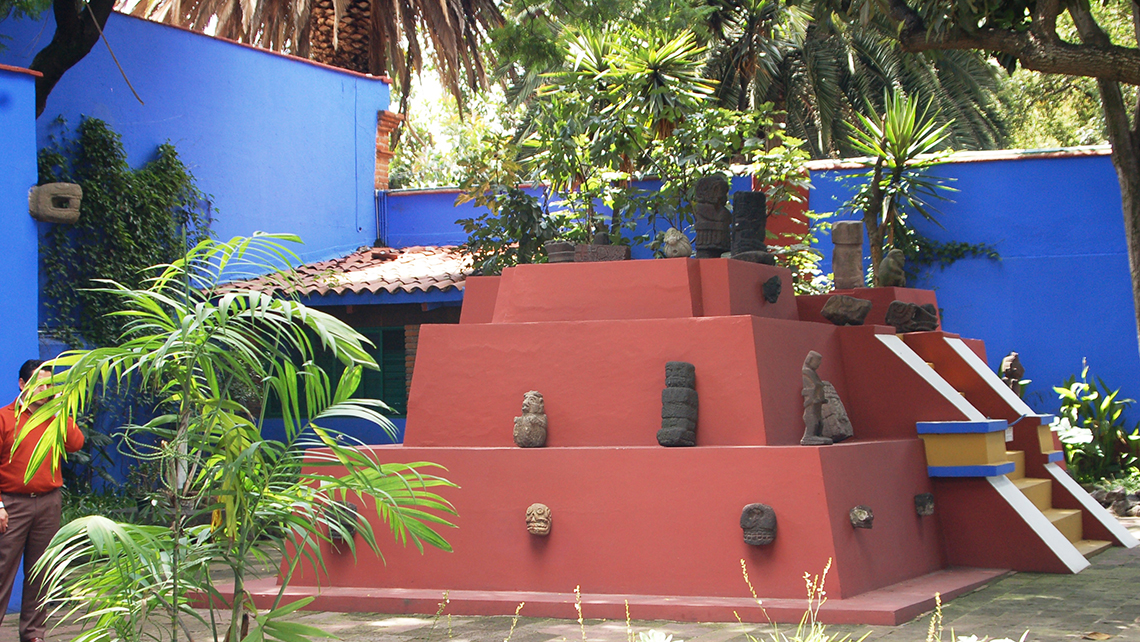 The Frida Kahlo Museum.