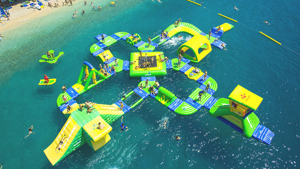 St Lucia Resort To Open Inflatable Water Park Travel Weekly