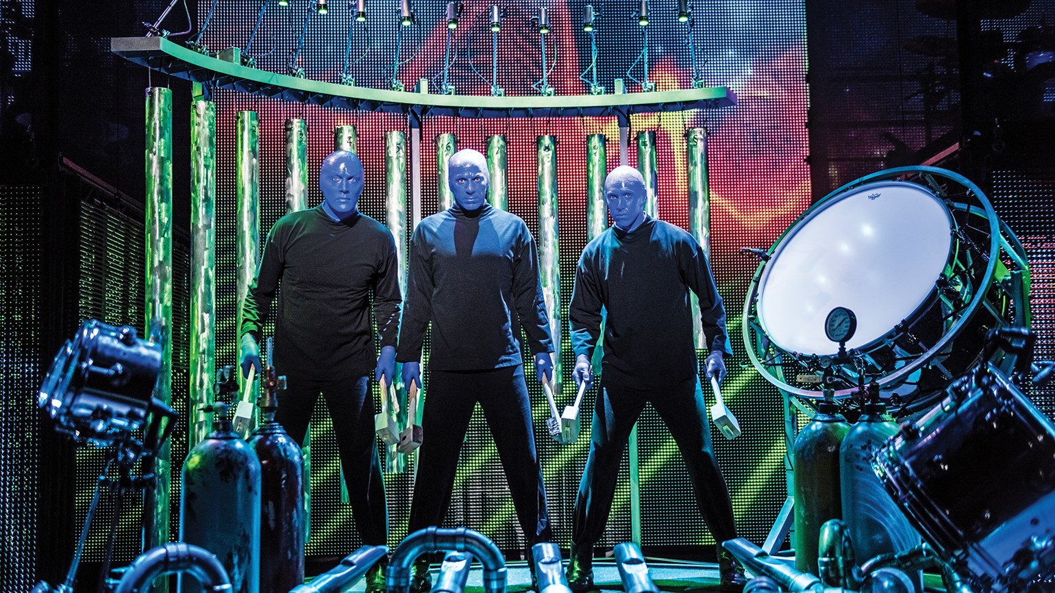 Blue Man's shows are ever-evolving