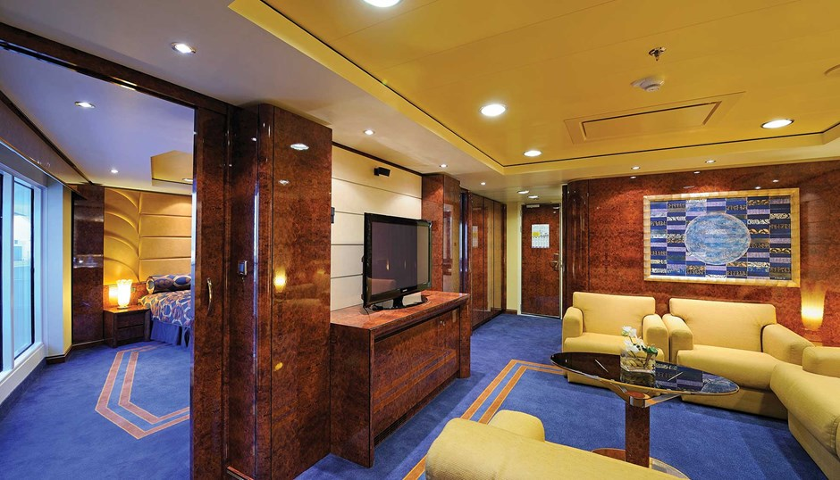Cruise suite classes help lure luxury clients