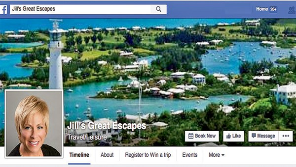 Jill's Great Escapes is on track to become a million-dollar agency in its third year of business.
