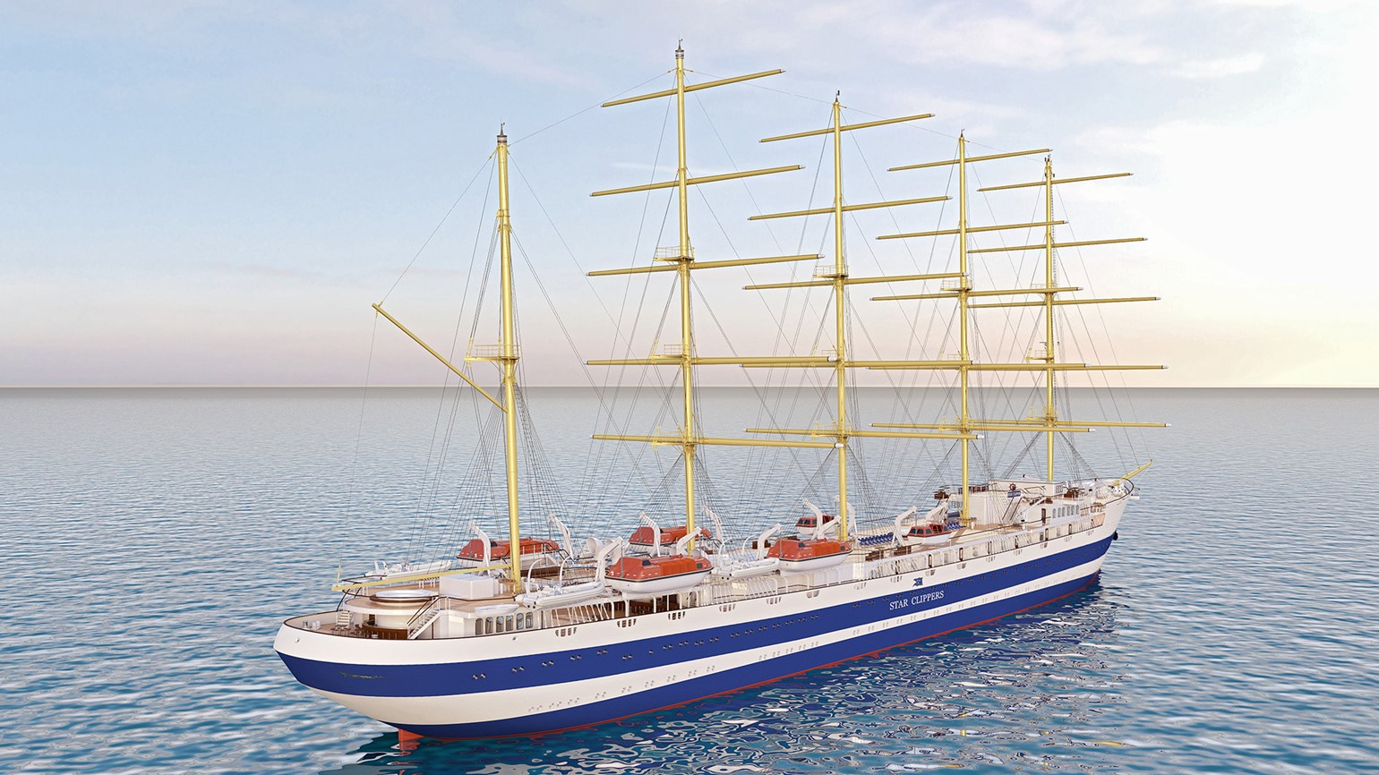 Star Clippers building new masted ship for 2017