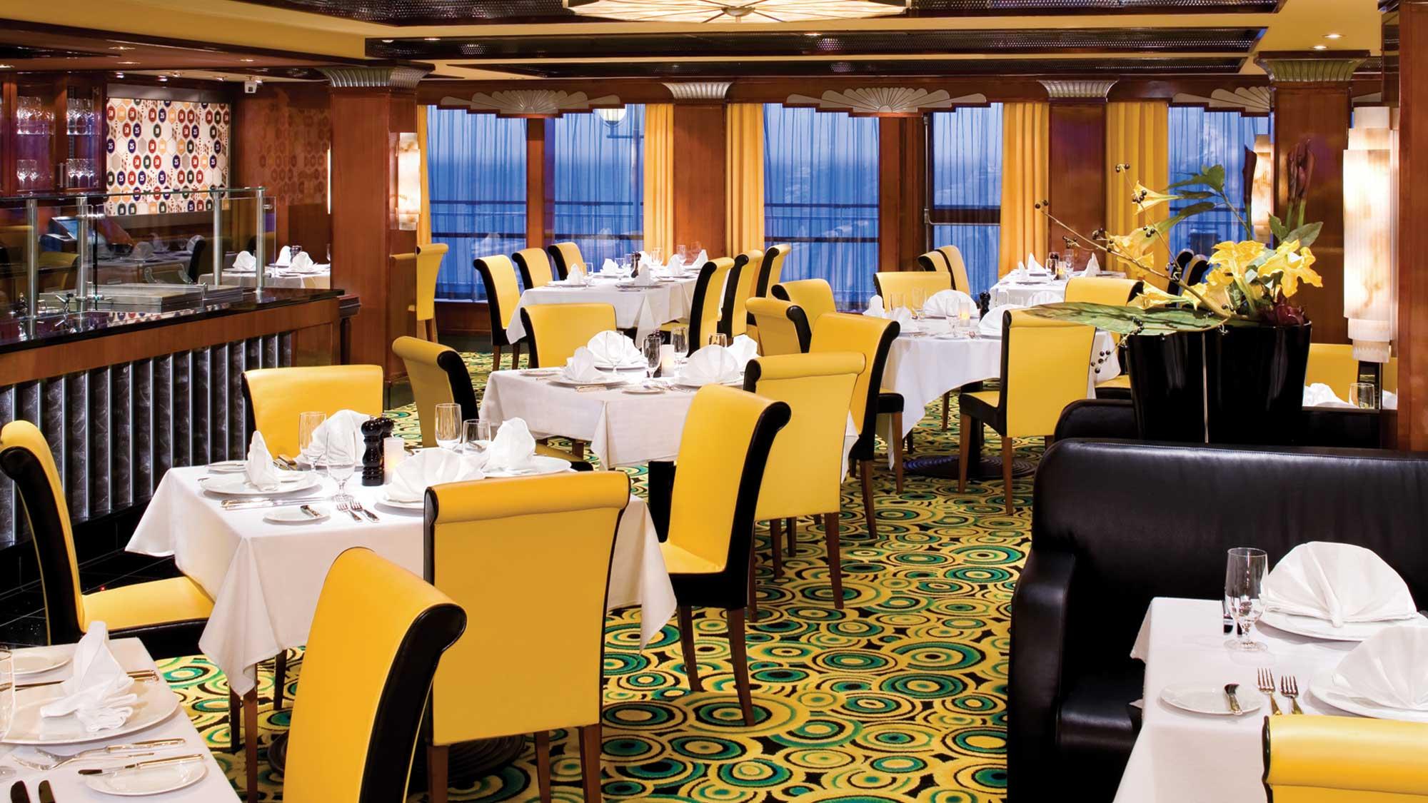 Cagney S Steakhouse An Alternative Restaurant On Norwegian Ships