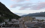 Destinations Editor Eric Moya recently visited Alaska for a tour of its national parks. Pictured, downtown Juneau, about 3:30 a.m.