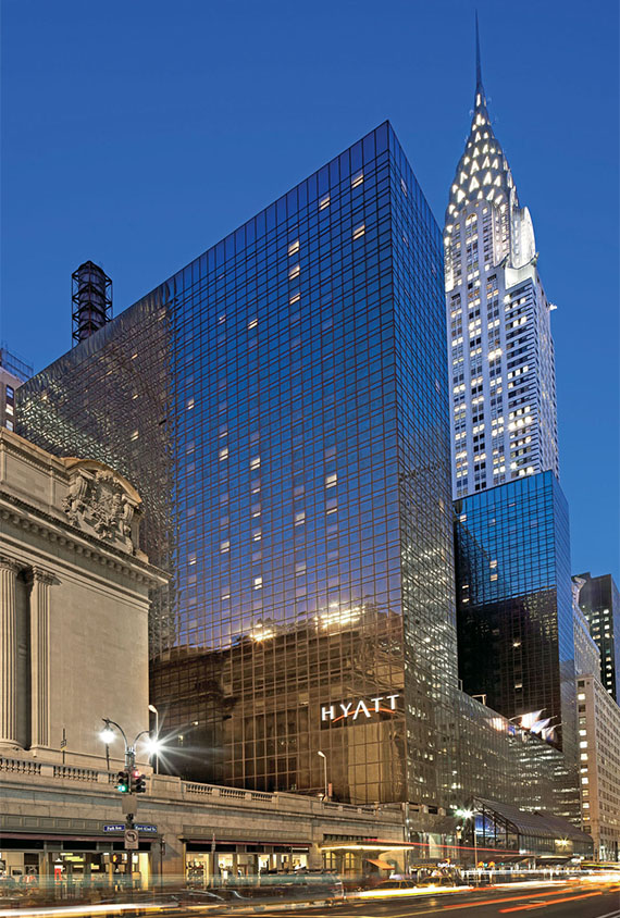 The Grand Hyatt New York.