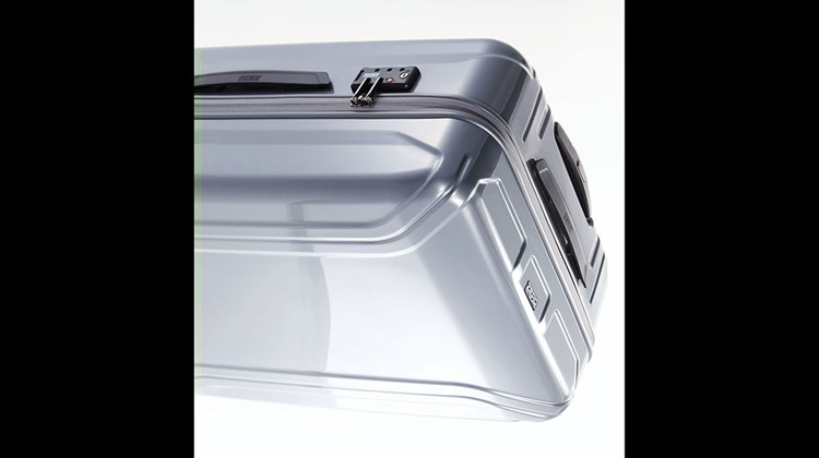 The highly esteemed luggage maker, Zero Halliburton, is offering a new line of light-weight bags, including this 26-inch polycarbonate, hard-bodied spinner. Among the product line's attributes are a magnesium, telescoping handle system; a pop-up, TSA-approved three-digit combination lock; a fully lined interior, with compression straps and mesh compartments; and four wheels that roll with ball-bearing-assisted ease. The Zero Air II Travel Case weighs just under 8 pounds, measures 19 by 11 by 28 inches, and is available in a variety of colors.