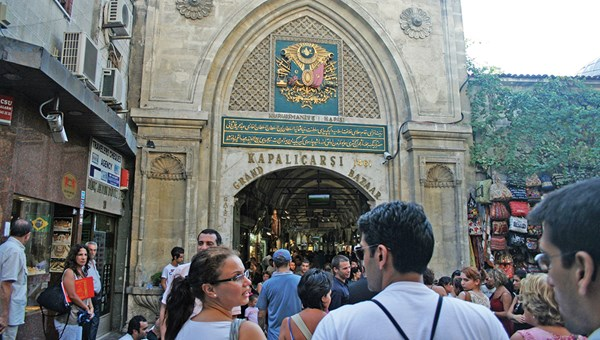 The Grand Bazaar in Istanbul consistently ranks among the most-visited sights in the world. Love Home Swap named it the 11th Most Visited Tourist Attraction in the World.