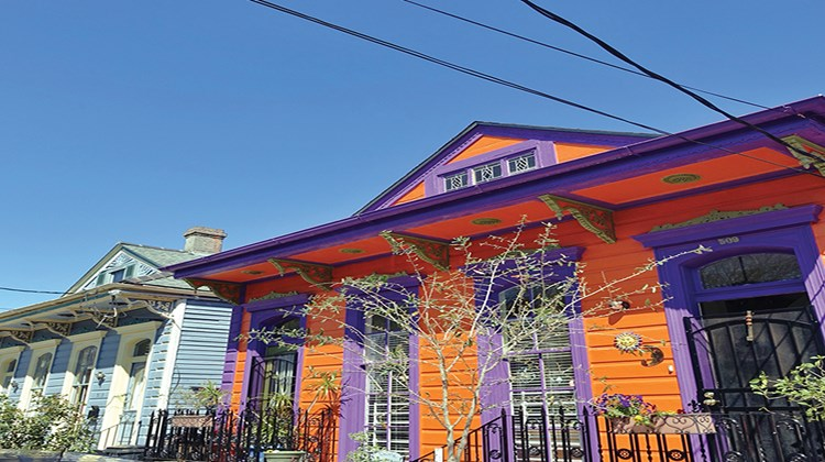 The artsy Bywater neighborhood has become trendy in recent years and is often called the Soho of New Orleans.