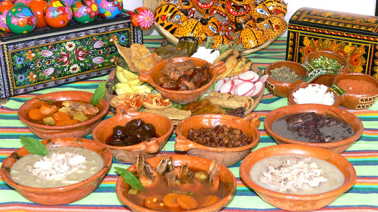 The colorful cuisine and culture of Mexico