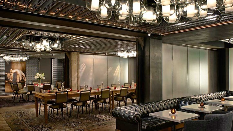 The Hotel Palomar In San Francisco Was Renamed Zelos After New Management Took Over Pictured S Dirty Habit Bar And Restaurant