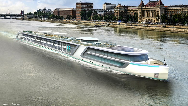 Crystal's all-suite river ships will enter service in 2017.