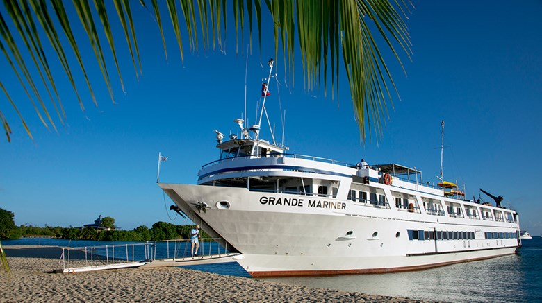 As North American coastal cruising is gaining in popularity, new entrants are introducing different and larger vessels to the market, and new destinations such as Cuba are on the rise. Pictured here, a beach landing of the Blount Small Ship Adventures vessel the Grande Mariner.