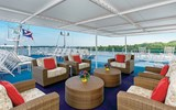 The partly-covered Lido Lounge on the Pearl Mist.