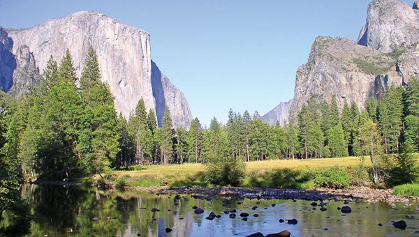 Yosemite National Park became protected land in 1864 when President Abraham Lincoln signed the Yosemite Grant Act, which inspired the national park movement.
