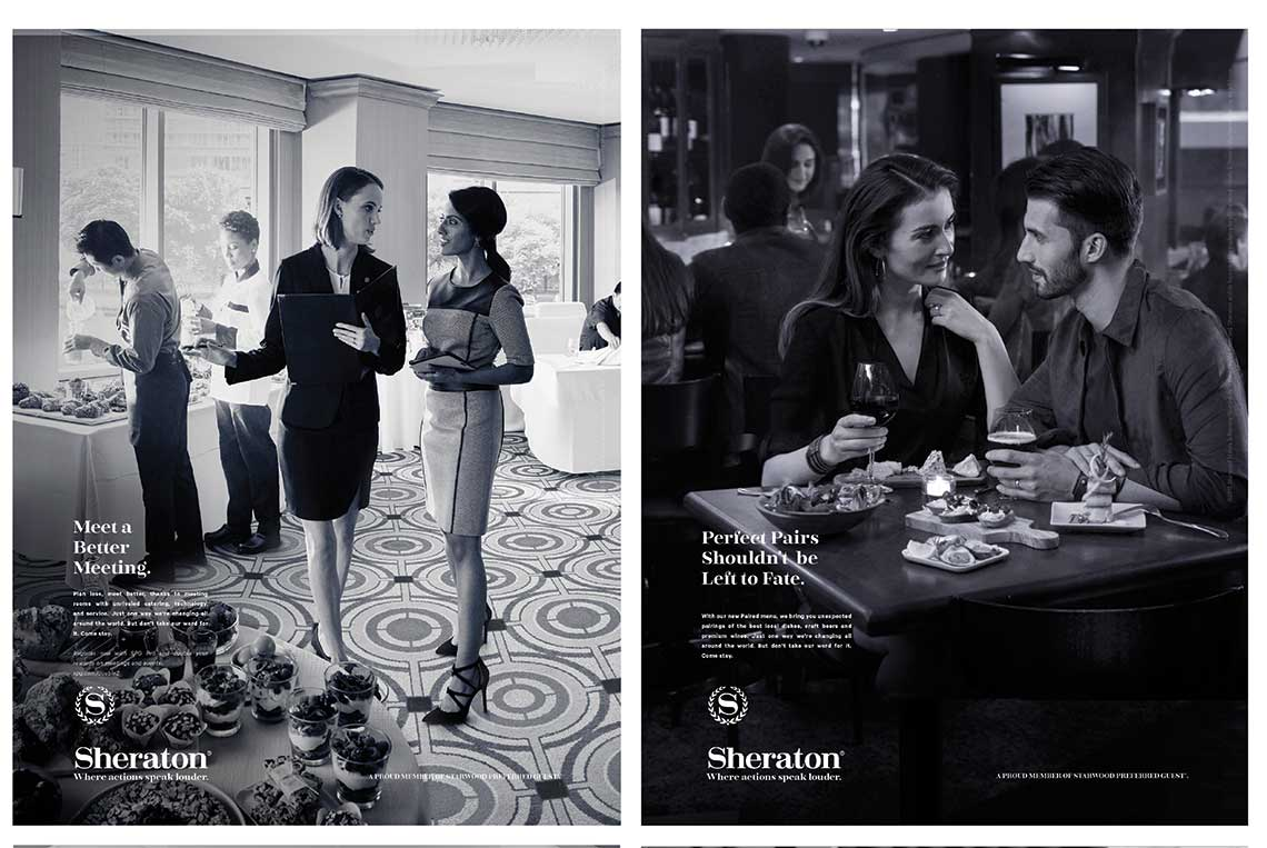 Starwood Launches Sheraton Ad Campaign Travel Weekly