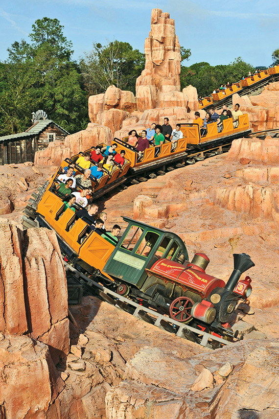 The use of selfie sticks on rides like the Big Thunder Mountain Railway prompted Disney to ban the devices in its parks.