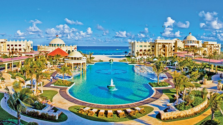 All-inclusives are on the rise, swiftly expanding across their stronghold in the Caribbean and Mexico while being explored by more hotel brands and destinations that are less beach-focused. Pictured here, Mexico is home to more than 175 all-inclusive resorts, including the Iberostar Grand Hotel Paraiso on the Riviera Maya.