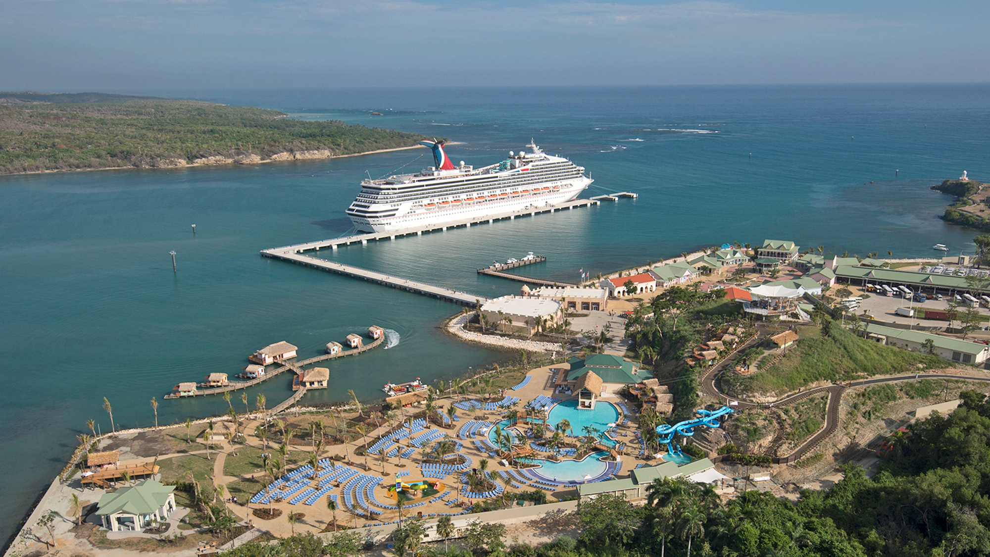 Amber Cove Welcomes First Ship Travel Weekly