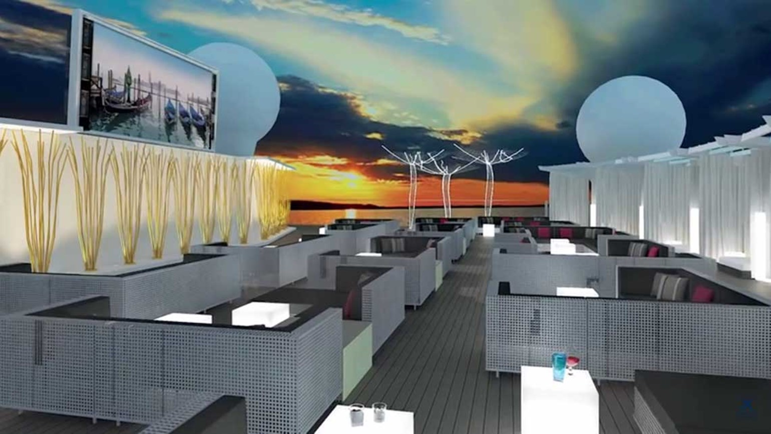 Two Celebrity Cruises ships to get new outdoor venue