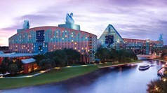 Disney World's Swan hotel completes renovations