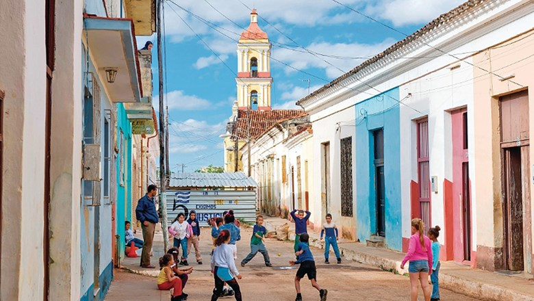 Remedios, three miles from the north coast in the center of Cuba, is a stop on Grand Circle Foundation's 2016 program.