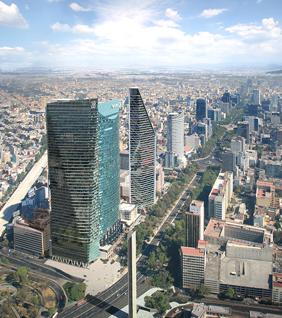 New Skyscraper The Future Home Of Ritz Carlton Mexico City