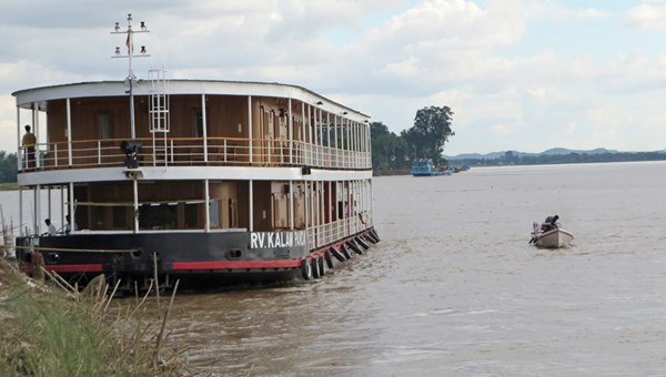 Pandaw River Expeditions' 36-passenger Kalaw Pandaw.