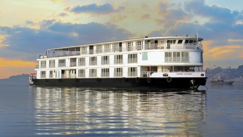 Haimark's 56-passenger Ganges Voyager launched earlier this year.