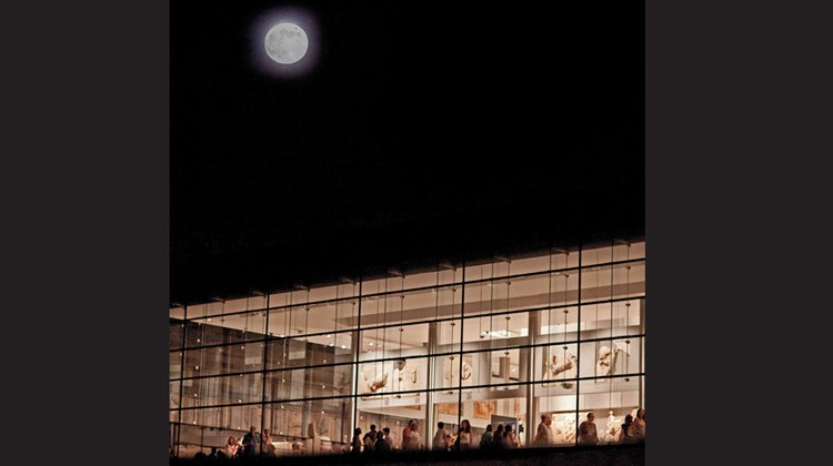 The Acropolis Museum.<br /><br /><strong>Photo Credit: Giorgos Vitsaropoulos</strong>