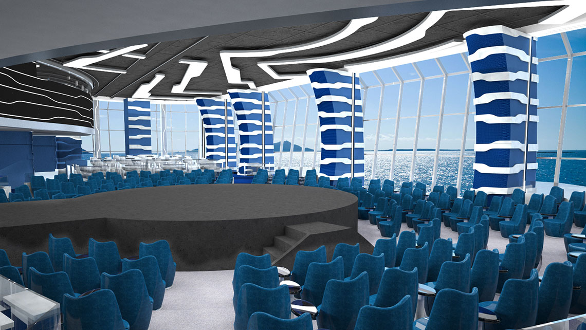 Msc Building Cirque Du Soleil Theaters For Meraviglia