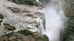 Is Victoria Falls drying up?