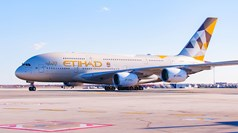 Etihad launches A380 service to New York