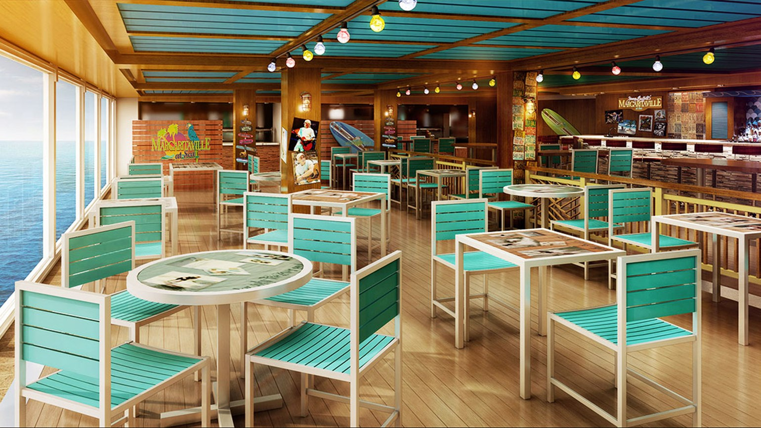 On Norwegian Escape, dining at Margaritaville now costs extra