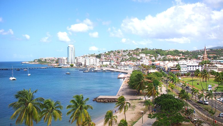 Martinique has new service from New York, Baltimore/Washington and Boston.