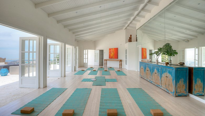 The Retreat in Costa Rica offers yoga classes and other wellness activities.